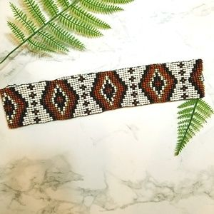 Anthro Cocobella beaded belt